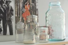Décor Crush: Vintage Glass Containers & How To Use Them  Source: Home Decor Ideas & Unique Home Decor   Free People Blog   Page 3 http://blog.freepeople.com/decor/#ixzz2aYh13Rwh