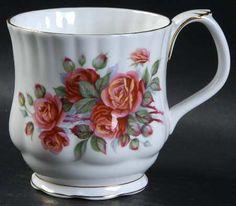 Royal Albert Centennial Rose at Replacements, Ltd Porcelain Mugs, China Porcelain, Rose Online, China Sets, Royal Albert, Tea Pots, Red And White, Christmas Ornaments, Crystals