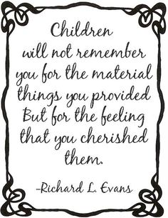 I hope my children, nieces & nephews feel like this :)@Mandi Viola, @Nikki Adams