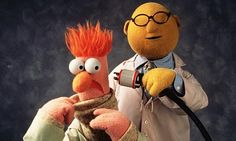 Mythbusters - The Early Years A photo of the Muppets, Beaker and Doctor Bunsen experimenting. Jim Henson, Starwars, Living Puppets, Foto Fun, Fraggle Rock, Comedy, The Muppet Show, Cosplay Anime, Demotivational Posters