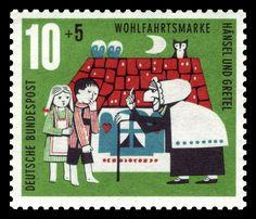 DBP 1961 370 Wohlfahrt Hänsel und Gretel - Hansel et Gretel — Wikipédia