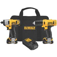 Best Cordless Drill - Amazing DEWALT DCK211S2 12-Volt Combo Kit