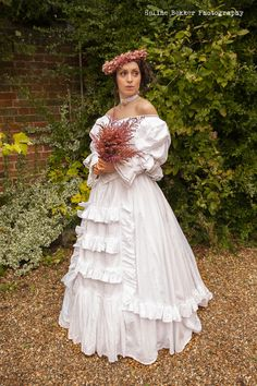 #Victorian #wedding #dress #Edwardian #wedding #dress #gothic #wedding #dress # The Victoria  #gown made by #victorian gothic uk to order and #bespoke in all fabrics and colours using traditional and modern techniques to create a #couture look and finish.