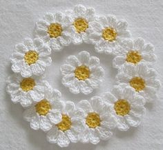 flores en crochet paso a paso sencillas