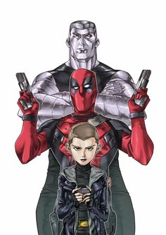 Colossus, Deadpool & Negasonic Teenage Warhead - Dan Croft