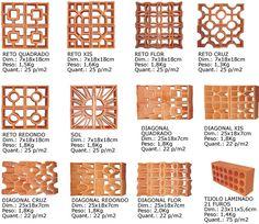 Em continuidade a este post: Post inicial sobre blocos vazados. Grande característica da arquitetura moderna brasileira da década de 50, o...