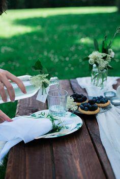 Ein Sommer-Picknick