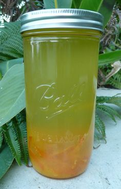 Yes yes yes...perfect for summer drinks!  Tangerine triple sec...