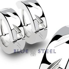 PIN IT TO WIN IT! Silver Strike: This shiny metal on your ears will give you a special look. With their cool design, they will surely grab attention!       $19.99  www.buybluesteel.com