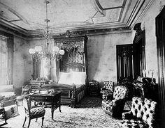 Pottier & Stymus bedroom interior 1880's