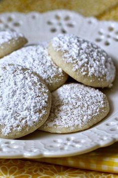 """Soft Lemon Cookies from Scratch 