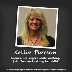 NIOSH Women in Science: through video Kellie shares her journey to psychology and the satisfaction she gets knowing her research is helping workers.