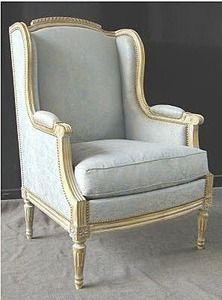 Louis XVI Classic Style Bergere Wingchair
