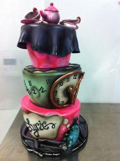 Alice in Wonderland baby shower by Gimme Some Sugar (vegas!), via Flickr
