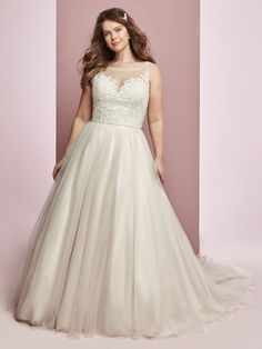 This classic ballgown offers additional coverage to our Eliza style. Fitted Wedding Gown, Sweetheart Wedding Dress, Designer Wedding Gowns, Perfect Wedding Dress, Tulle Wedding, Sottero And Midgley Wedding Dresses, Wedding Dress Gallery, Curvy Bride, Affordable Wedding Dresses