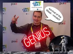 survival of the fittest - minds!!! #CES2015 #PixeSocial
