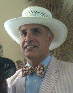 Kentucky Derby Run for the Roses Bow Tie and Seersucker outfit.