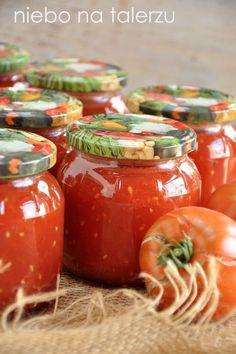 niebo na talerzu: Pomidory w słoikach