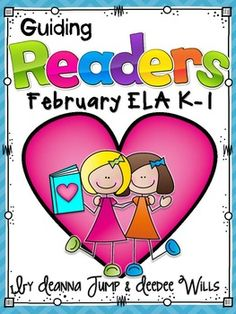 HOT OFF THE PRESS!  Guiding Readers: February NO PREP ELA Unit for K-1! Reading, Phonics, Comprehension, Word Work & More! No Prep, Print & Go Lesson Planning made easy.  Just PRINT and TEACH!