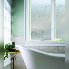 bathroom window coverings for privacy fantastic diy lace cut frosted film video and home interior 3 Bathroom Window Coverings, Bathroom Windows, Bathroom Window Dressing, Frosted Window Film, Spa Interior, Small Space Bathroom, Room Paint Colors, Window Dressings, Glass Kitchen