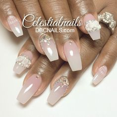 #ShareIG Wedding nails for my love...