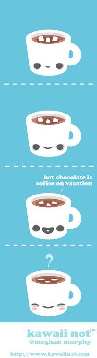 Hot Chocolate (Kawaii Not Comic)