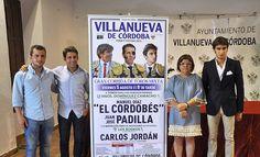 El Cordobés, Padilla y Carlos Jordán componen el cartel de toros de la Feria de Villanueva de Córdoba