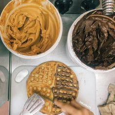 """Waffle kiosk at Centre Point. The way Sabahan eat the waffle before """"pretty"""" waffle introduced by the new cafes and eateries. Used to sell around RM2 and top with peanut butter and jam. Still served in unbranded brown paper bag"""