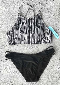 Any bathing suits your friends recommend for swimming? $21.99 gives you the best-quality bikini set. Join in the cool water sports now! More heated bikinis saved for you at Cupshe.com !
