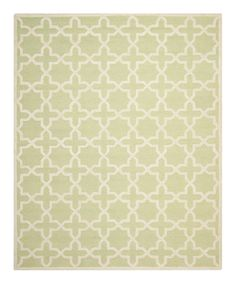 Love this Light Green & Ivory Catalina Wool Rug by Safavieh Rugs on #zulily! #zulilyfinds