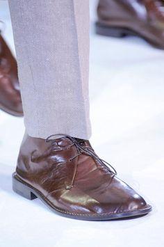 Giorgio Armani men shoes S/S '14
