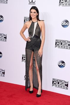 Kendall Jenner – 2014-11-23 – attends the '2014 American Music Awards' at Nokia Theatre L.A. Live in Los Angeles (no. 6591)