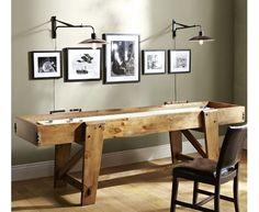 Pottery Barn Shuffleboard Table - Home and Garden Design Ideas
