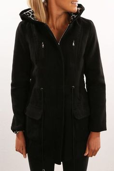 Jungle Fever Jacket Black