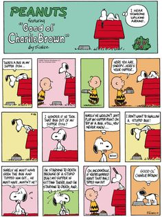 Classic Peanuts 4/26/15 - Originally appeared 4/28/68