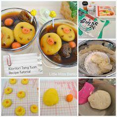 My Kiioritori Rice Ball (Tang Yuan) Recipe! Hope you like this cute deco shiratama!