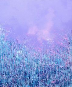 Composition in Lilac, Acrylic painting by Marc Todd | Artfinder