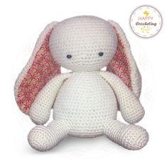 Ravelry: Bunny Rabbit with Pom Pom Butt pattern by Happy Crocheting