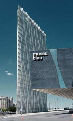 Museu Blau. The blue museum.  This museum is dedicated to the natural history and sciences. It's been recently relocated to the Forum district right in front of the beach, and has a garden and runs workshops for children. Under-16s get in free.