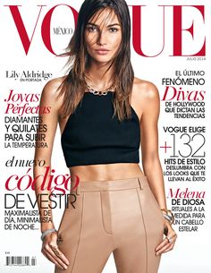 Lily Aldridge for Vogue Mexico - July 2014