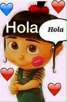Hello In Spanish, Good Day, Good Night, Emoticon, Smiley, Relationship Quotes, Funny Cute, Agnes Despicable Me, Mr Wonderful