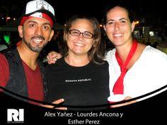 Alex Yañez - Lourdes Ancona y Esther Perez