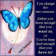 Art  - Words  - Inspiration  - change  - hurt - quote