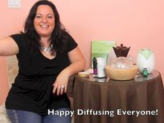 Young Living Essential Oil Diffusers Video Review:   http://handsinharmonyinc.com/young-living-essential-oils/diffusers/