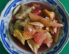 Rujak kuah pindang: Like Tipat Cantok, you can find this menu item at local Balinese restaurants or food stalls. (Photo ...