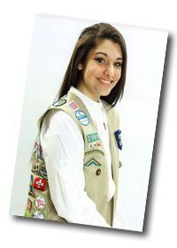 """Natalie -""""Reconnecting Seniors to the Community""""-Natalie created a Girl Scout Troop of women at an assisted living facility to reconnect the older generation. She taught them useful skills to avoid having them feel isolated from the community. Girl Scout Troop, Girl Scouts, Girl Scout Gold Award, Feeling Isolated, Assisted Living, Awards, Bronze, Community, Thoughts"""
