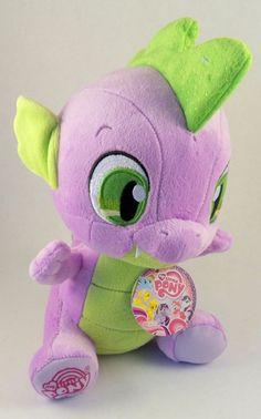 Aurora World My Little Pony Spike Plush 10 885931897659 for sale online My Little Pony Collection, My Little Pony Friendship, Equestria Girls, Mlp, Plushies, Aurora, Dinosaur Stuffed Animal, Arts And Crafts, Happy Birthday
