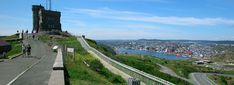 St John's Newfoundland Tourist and Visitor Tips Signal Hill, St John's, Newfoundland, Statue Of Liberty, The Neighbourhood, Dolores Park, History, City, Travel