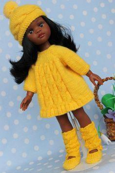 Здравствуйте многоуважаемые гости моего шопика! Рада видеть всех!)))))) Продаю комплектик ручной работы на кукол Paola Reina и им подобных куколок.Одежда / 700р
