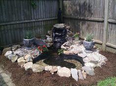 my backyard fountain